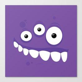 Psychos - Crazy Monsters (Purple) Canvas Print