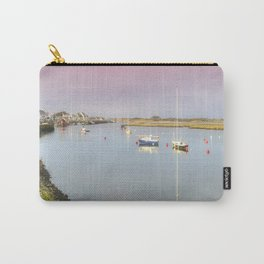 View Across Irvine Harbour Carry-All Pouch