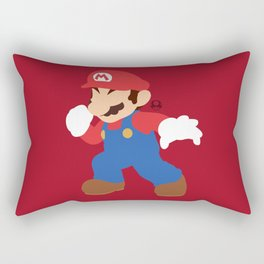 Mario(Smash) Rectangular Pillow