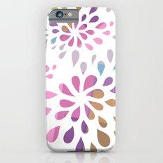 Colourful drops Slim Case iPhone 6s