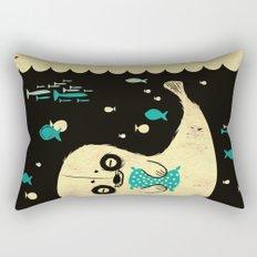Panda Seal Rectangular Pillow