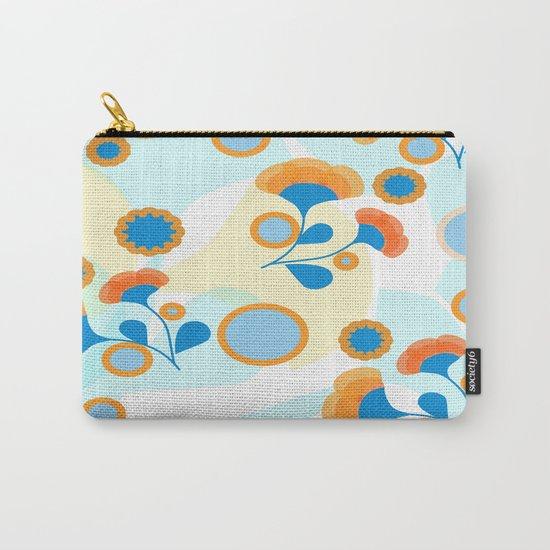 Calendula Pattern Carry-All Pouch