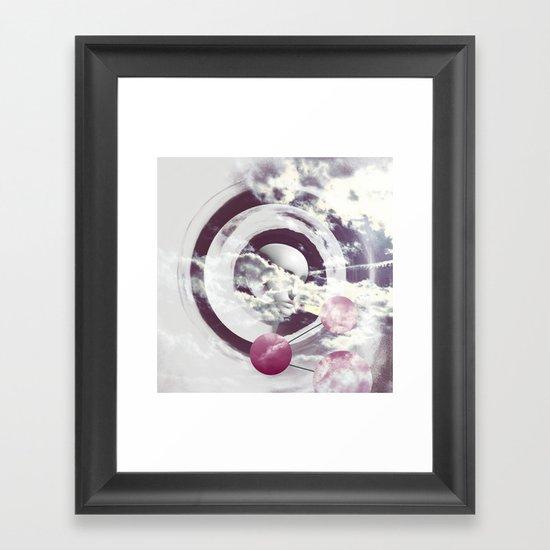 |DOMINO| Framed Art Print