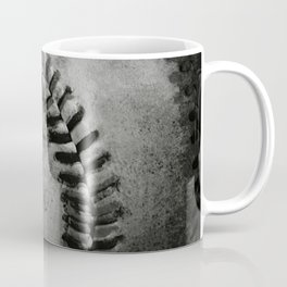 Black and white Baseball Coffee Mug