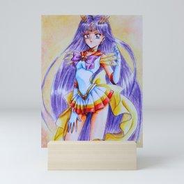 Sailor Mars Costume Upgrade 2 Mini Art Print