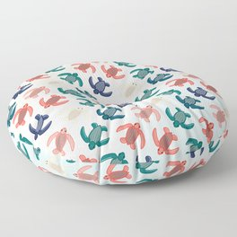 Baby Leatherbacks Floor Pillow