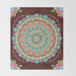 The Softness of Nurturing Evolvement Throw Blanket