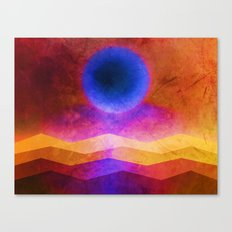 Sea Moon Canvas Print