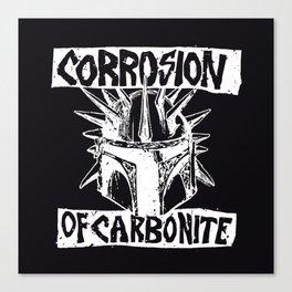 Sithfits - Corrosion of Carbonite Canvas Print