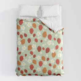 Strawberry Blossom Comforters