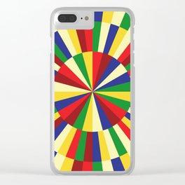 Mediterranean Sun Clear iPhone Case