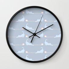 Kitty Cat V Wall Clock