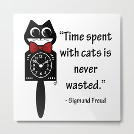 Time with Cats Metal Print