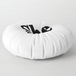 She Floor Pillow