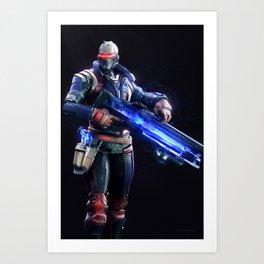 Soldier 76 v1 Art Print