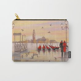 Morning in Venice Carry-All Pouch