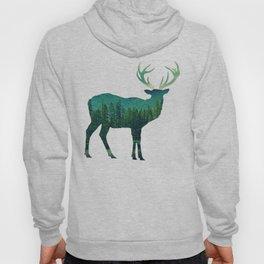 Deer Stag Forest Hoody