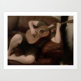 Musical Repose Art Print