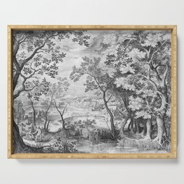 Landscape with Judah and Tamar Serving Tray