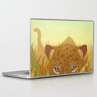 leopard Laptop & iPad Skins featuring Leopard by Miguel Co