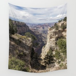 A Vertical View - Grand Canyon Wall Tapestry
