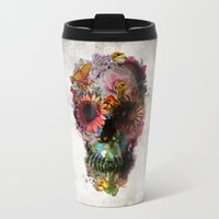 2001 Travel Mugs featuring SKULL 2 by Ali GULEC
