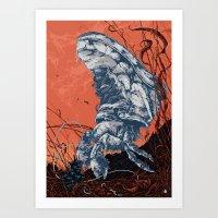 Hermit / Air Force Art Print