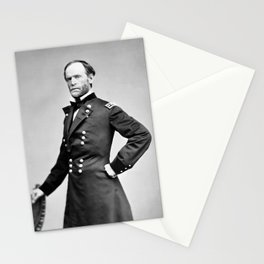 William Tecumseh Sherman Standing Portrait Stationery Cards