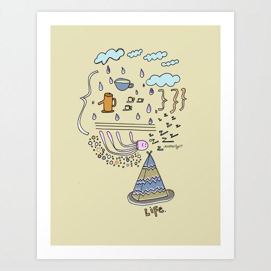 Dream Jelly Art Print