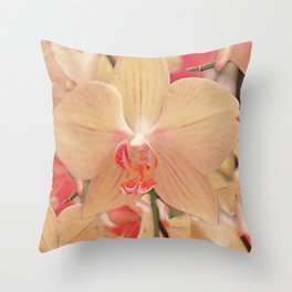 The mystery of orchid (14) Throw Pillow