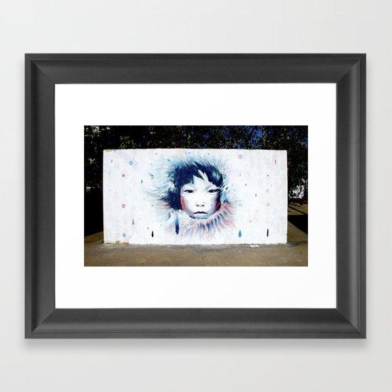Hen To Pan Framed Art Print
