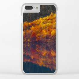 A poet's inspiration Clear iPhone Case