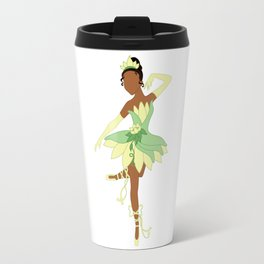 Frog Ballerina Princess Travel Mug