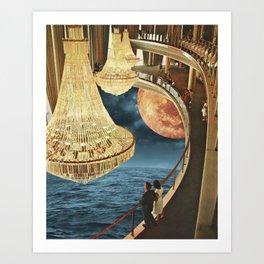 Balcony of Dreams Art Print