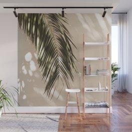 tropical palm leaves vi Wall Mural