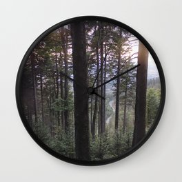 Forest V Wall Clock