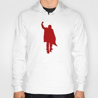 breakfast club Hoodies featuring Breakfast Club: The John Bender by InvaderDig