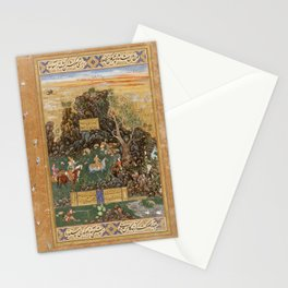 Abdul-Samad - Hunting Scene (1591) Stationery Cards