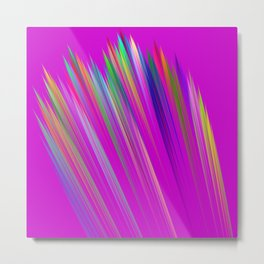Rainbow stripes Metal Print