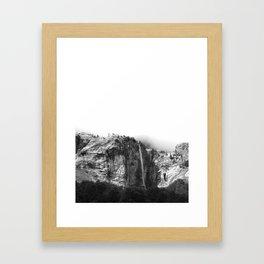 Forest Mountain Framed Art Print