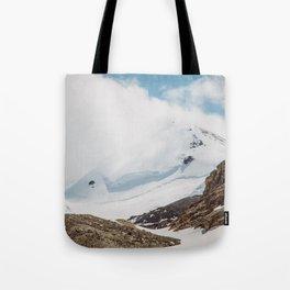 Jasper Mountains Tote Bag