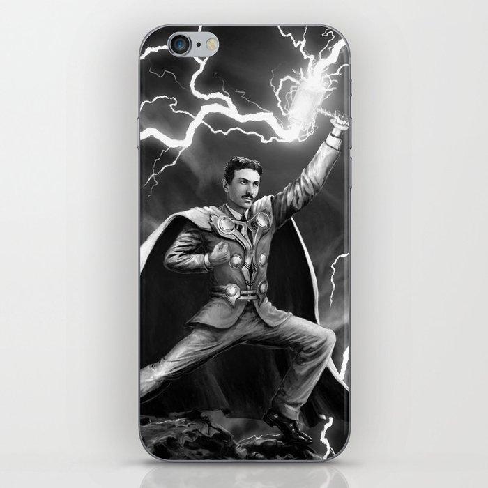 Tesla: God of Thunder iPhone Skin