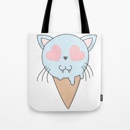 Kitty Ice Cream Tote Bag