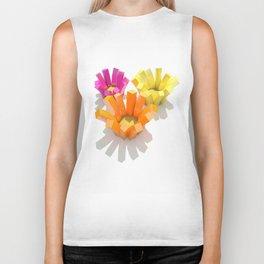 imagine flowers Biker Tank