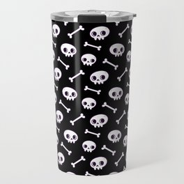 Cute Skulls Travel Mug