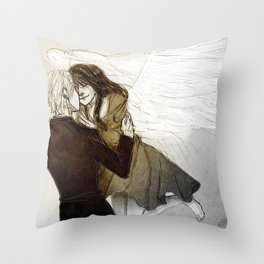 Back to you Throw Pillow
