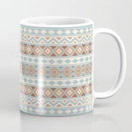 Aztec Essence Ptn IIIb Blue Crm Terracottas Coffee Mug