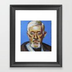 Obiwan Framed Art Print