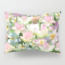 Lotus bloom Pillow Sham