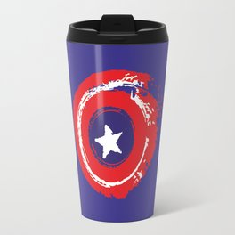 Patriot shield full color Travel Mug